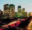 Uno scorcio di Los Angeles