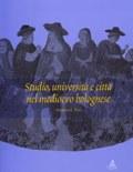 Copertina del libro Studio, università, città nel medioevo bolognese