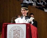 Laurea ad honorem ad Aung San Suu Kyi: aperto l'anno accademico 2013/2014 - Foto Schiassi