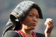 Donna di etnia Tamang