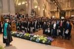 Il momento della proclamazione dei Dottori di Ricerca Alma Mater (Foto di Schiassi)