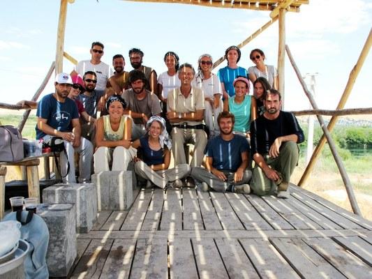 10. Il team italo-turco al lavoro nella missione di Karkemish.