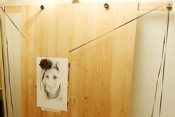 Caravaggio all'opera: la penna non si stacca mai dal foglio