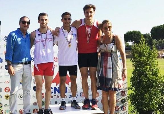Argento per Marco Gianantoni nei 100 metri
