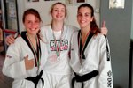 Taekwondo: argenti per Silvia Lombardi (categoria 67 kg cintura nera), Chiara Davalli (categoria 57kg cintura nera) e Chiara Cervelli (categoria 67 kg cintura verde)