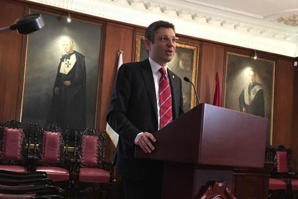 Il Rettore Francesco Ubertini all'Università del Rosario