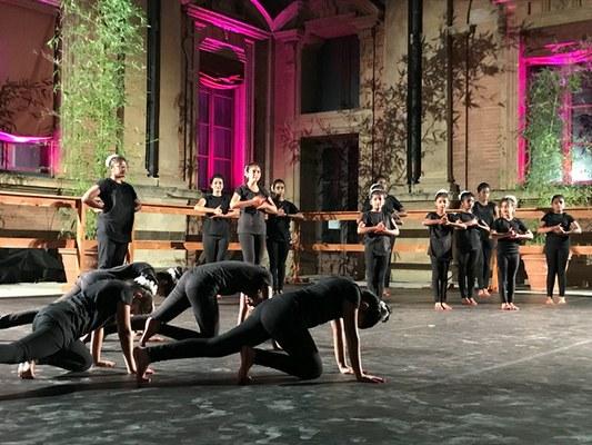 Lotus - spettacolo di danza di Simona Bertozzi 5 luglio 2017