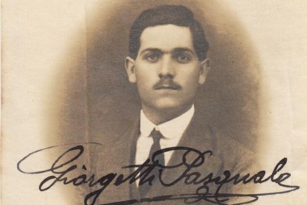 Giorgetti Pasquale (08/12/1893 - 27/07/1915) - Iscritto alla Scuola di Pedagogia, a.a. 1914-15 II anno