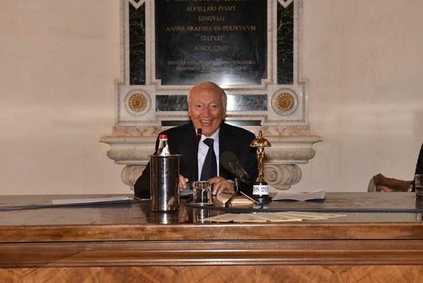 Piero Angela - Foto di Massimo Matera