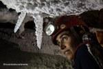 Fragili stalattiti cristalline di sale - Foto Riccardo De Luca, La Venta Esplorazioni Geografiche
