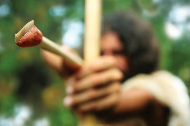 appuntamenti con punte di freccia in pietra