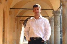 """Il professor Alberto Credi, Dipartimento di Chimica Industriale """"Toso Montanari"""", Università di Bologna"""