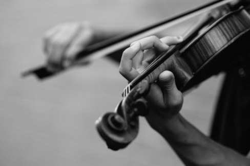 violino musica foto di joel wyncott